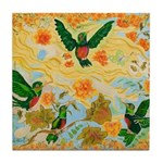 Hummingbird Friends Tile Coaster