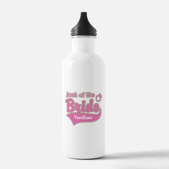 Aunt of the Bride Water Bottle
