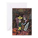 Paul klee circus Greeting Cards (10 Pack)