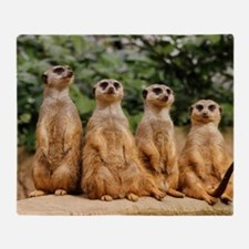 Meerkat-Quartett 001 Throw Blanket