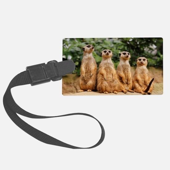 Meerkat-Quartett 001 Luggage Tag