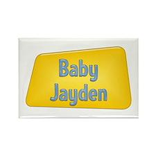 Baby Jayden Rectangle Magnet