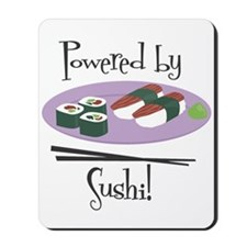 Powered by Sushi Mousepad