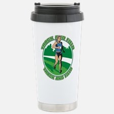 Women's Track and Field Stainless Steel Travel Mug