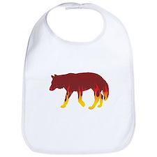 Wolfdog Flames Bib