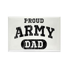 Proud Army Dad Rectangle Magnet