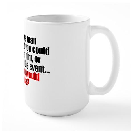 """""""Drowning"""" Large Mug"""