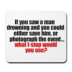 """Drowning"" Mousepad!"