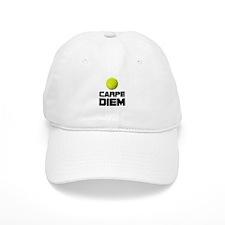 Carpe Diem Tennis Baseball Baseball Cap
