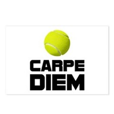 Carpe Diem Tennis Postcards (Package of 8)