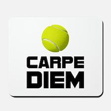 Carpe Diem Tennis Mousepad