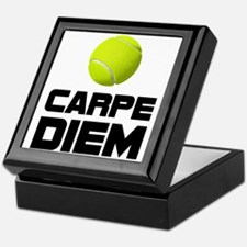 Carpe Diem Tennis Keepsake Box