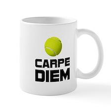 Carpe Diem Tennis Mugs