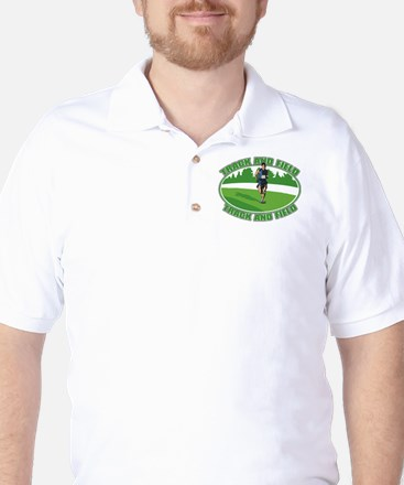 Mens Track and Field Golf Shirt
