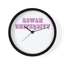 Rowan University Wall Clock