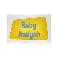 Baby Janiyah Rectangle Magnet