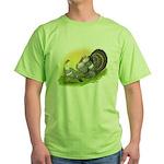 Narragansette Turkey Pair Green T-Shirt