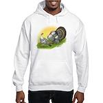 Narragansette Turkey Pair Hooded Sweatshirt