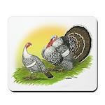Narragansette Turkey Pair Mousepad