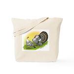 Narragansette Turkey Pair Tote Bag
