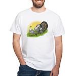 Narragansette Turkey Pair White T-Shirt