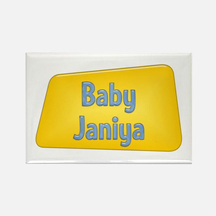 Baby Janiya Rectangle Magnet