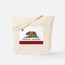 Torrance California Republic Flag Tote Bag