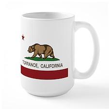 Torrance California Republic Flag Mugs
