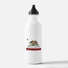 Torrance California Republic Flag Distressed Water