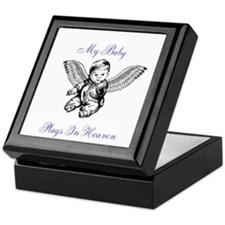 My Baby Plays In Heaven Keepsake Box