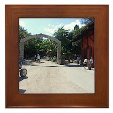 Labadee, Haiti  Framed Tile