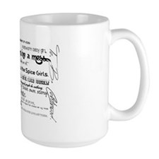My Mad Fat Diary Quote Poster Mug