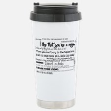 My Mad Fat Diary Quote  Travel Mug