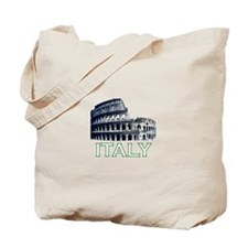 Italy (Colosseum - Dark) Tote Bag