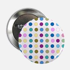 "Colorful Polka Dots 2.25"" Button"