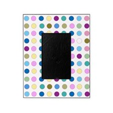 Colorful Polka Dots Picture Frame