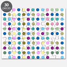 Colorful Polka Dots Puzzle