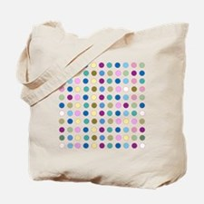 Colorful Polka Dots Tote Bag