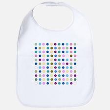 Colorful Polka Dots Bib