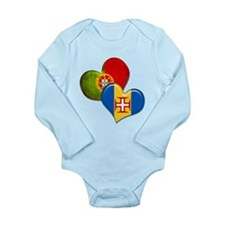 Portugal and Madeira h Long Sleeve Infant Bodysuit
