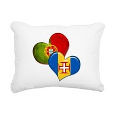 Portugal and Madeira hea Rectangular Canvas Pillow