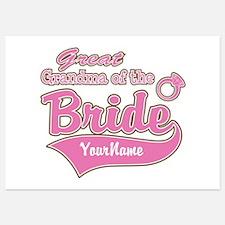 Great Grandma of the Bride Invitations