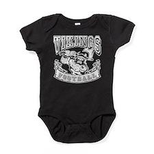 Vikings Football Baby Bodysuit