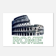 Rome, Italy (Colosseum) Postcards (Package of 8)