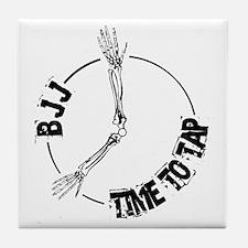 BJJ - Time to tap Tile Coaster