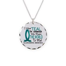 Scleroderma MeansWorldToMe1 Necklace