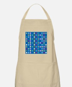 Polka Dots on Turquoise Apron