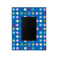 Polka Dots on Turquoise Picture Frame