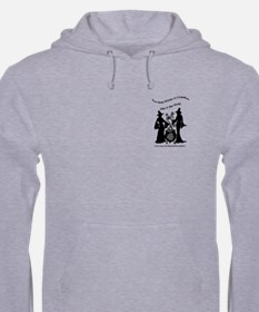 Two Sassy Witches A Cauldron Hoodie
