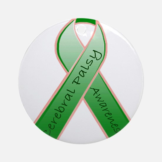 CP Awareness Ribbon.JPG Ornament (Round)
